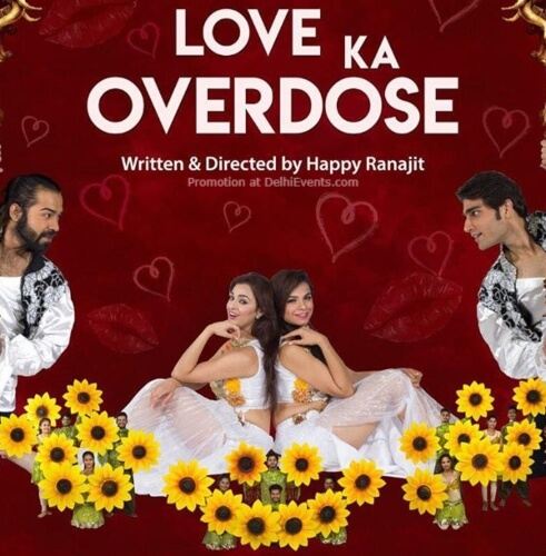 Love Ka Overdose Bollywood Musical Comedy Kingdom Dreams Gurugram Creative