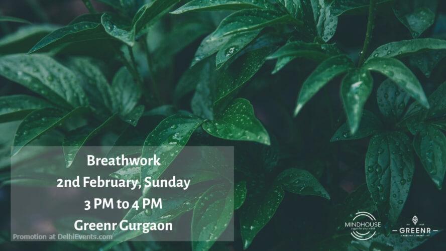 Breathwork Greenr Cafe Gurugram Creative