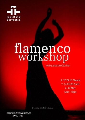 Flamenco Workshop Dance Teacher Lissette Carrillo Instituto Cervantes CP Creative