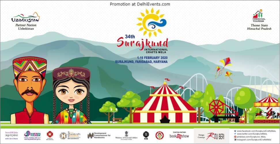 34th Surajkund International crafts Mela Faridabad Creative
