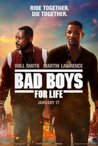 Bad Boys Life Action Comedy Will Smith Martin Lawrence Film Poster