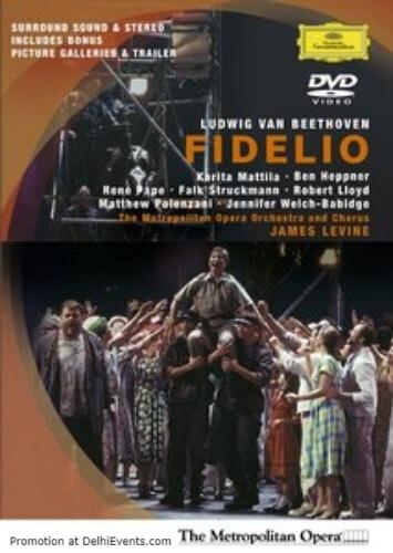 Opera Habitat Beethoven Fidelio Sung German Film Poster