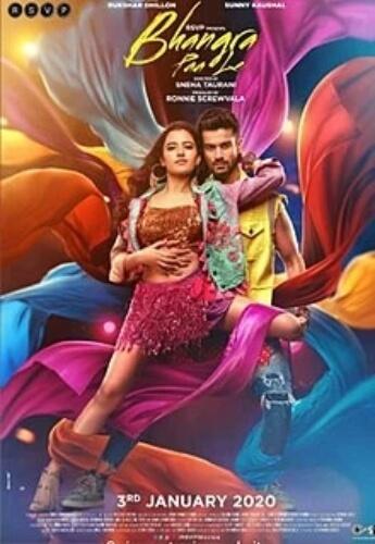 Bhangra Paa Le Sunny Kaushal Rukshar Dhillon  Film Poster