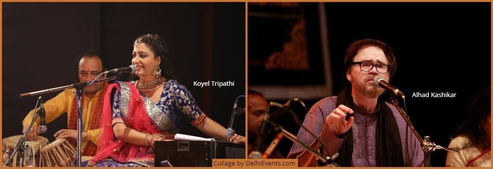 Musicians Koyel Tripathi Alhad Kashikar