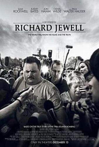 Richard Jewell Sam Rockwell Kathy Bates Jon Hamm  Film Poster
