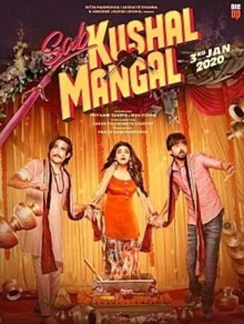 Sab Kushal Mangal Akshaye Khanna Priyank Sharma Riva Kishan Film Poster