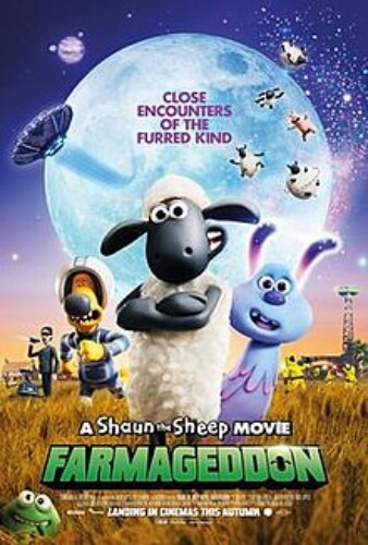 Shaun Sheep Movie Farmageddon Animation Comedy  Film Poster