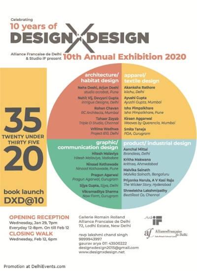 Twenty under ThirtyFive 10th Annual Exhibition 2020 Alliance Francaise Lodhi Road Creative