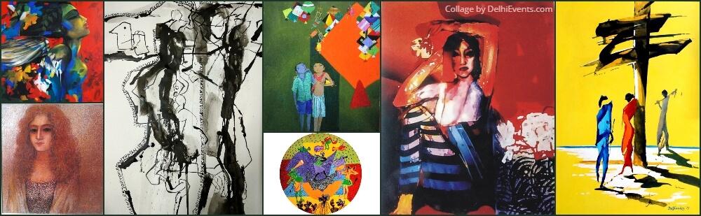 Vision20 Group Art Show AIFACS Rafi Marg Artworks