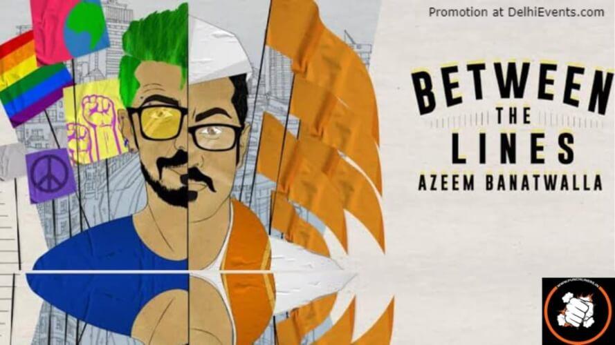 Punchliners Comedy Show Azeem Banatwalla Hard Rock Cafe Gurugram Creative