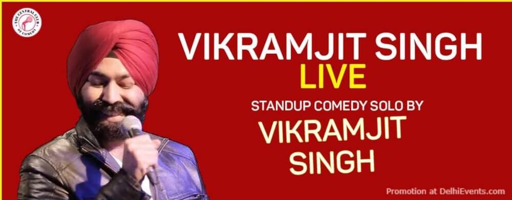 Standup Comedy Vikramjit Singh Creative