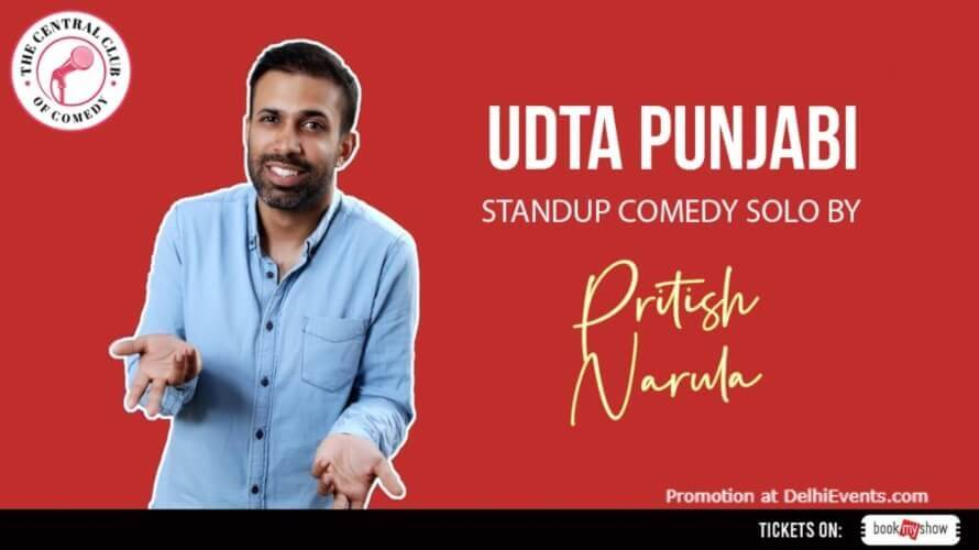 Udta Punjabi Standup Comedy Pritish Narula Dribble Cafe Gurugram Creative