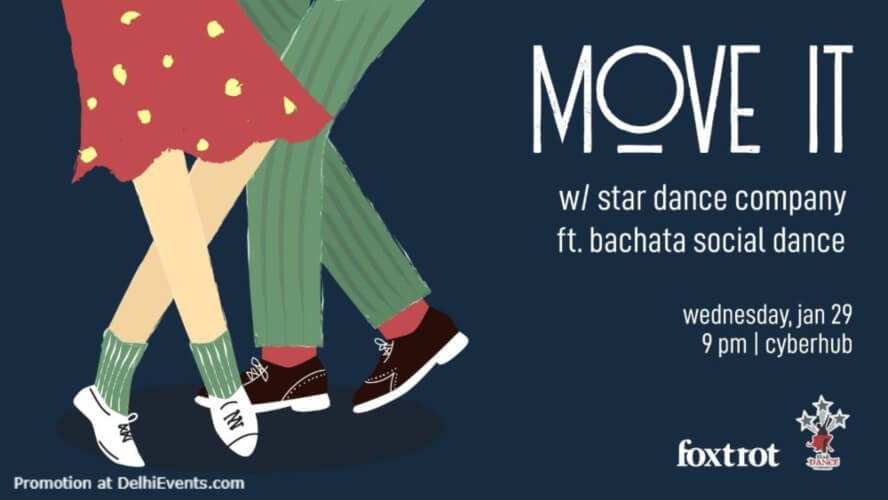 MOVE It Bachata Social Dance Foxtrot DLF Cyber City Gurugram Creative