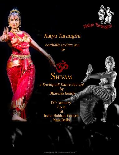 Om Shivam Kuchipudi Recital Bhavana Reddy India Habitat Centre Lodhi Road Creative