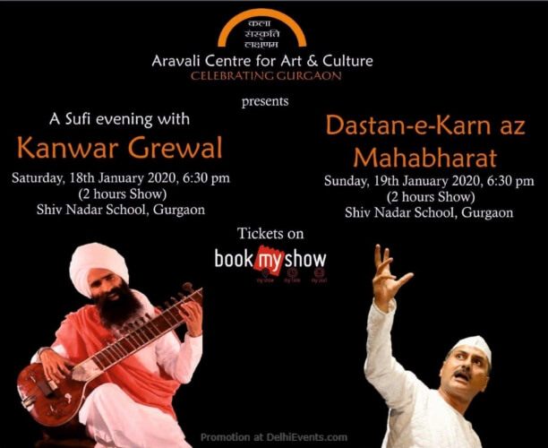 Aravali Centre Art Culture Double Delight Music Theatre Shiv Nadar School Gurugram Creative