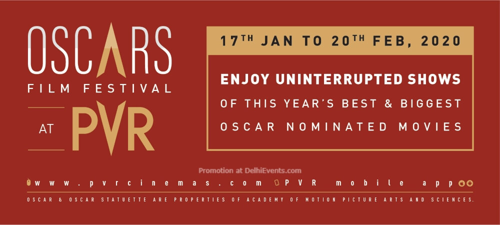 Oscars Film Festival Select PVR Cinemas Creative