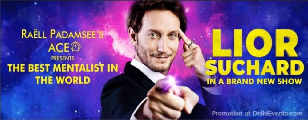 Raell Padamsees ACE Productions Mentalist Lior Suchard Creative