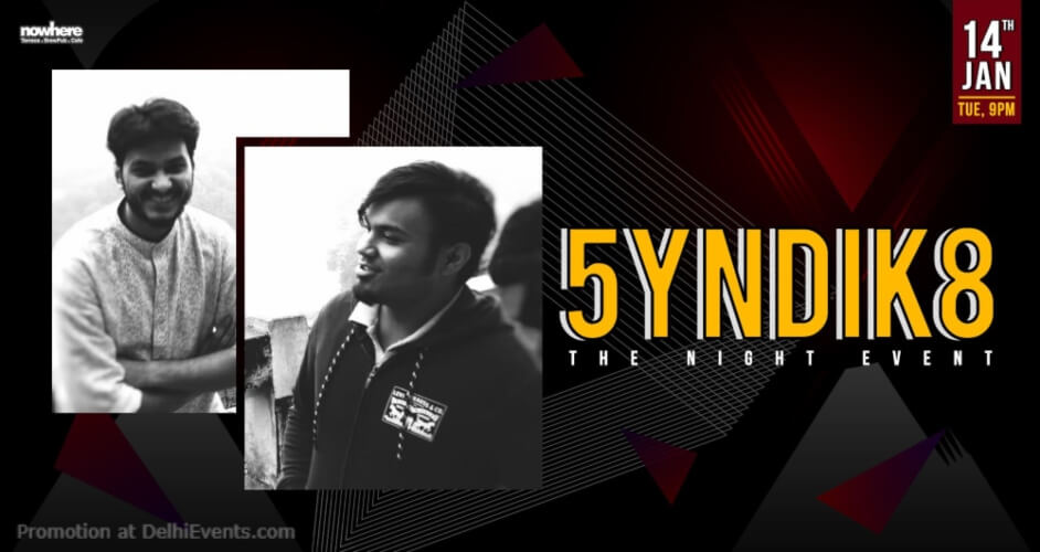 5yndik8 Nowhere Terrace BrewPub Cafe Gurugram Creative