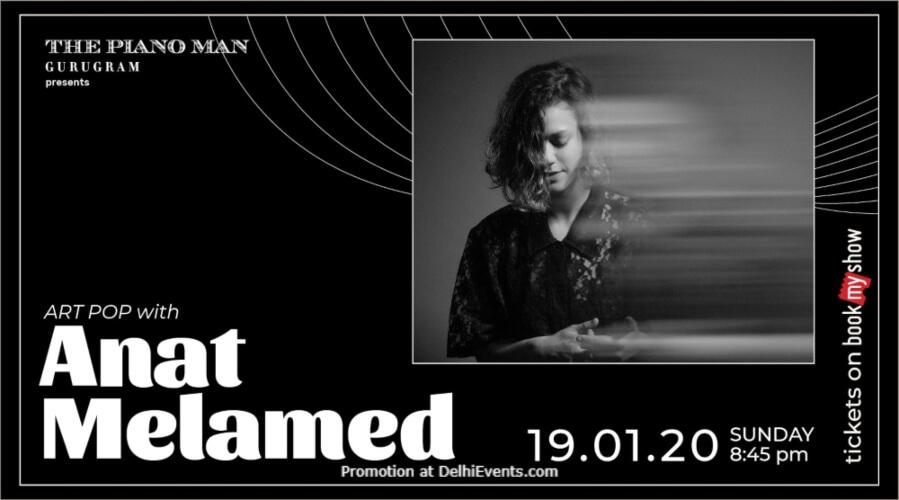 Anat Melamed Piano Man Gurugram Creative