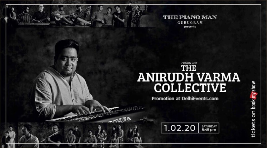 Anirudh Varma Collective Piano Man Gurugram Creative