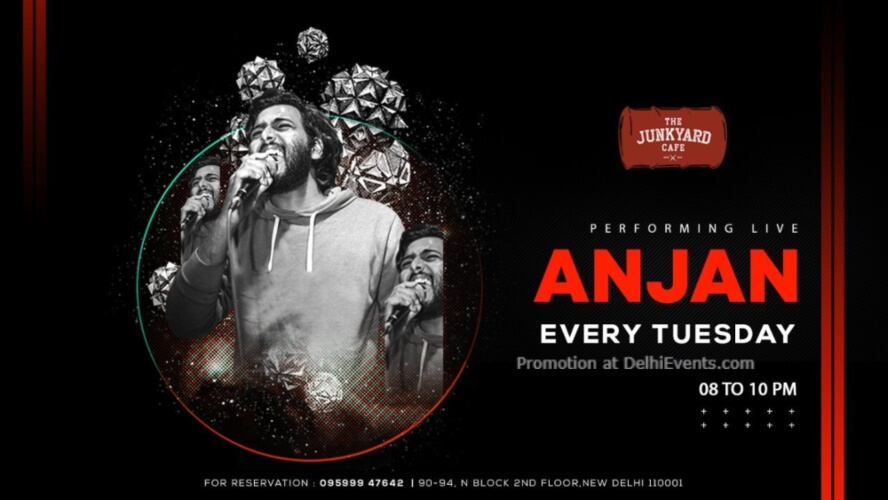 Anjan Performing Junkyard Cafe CP Creative