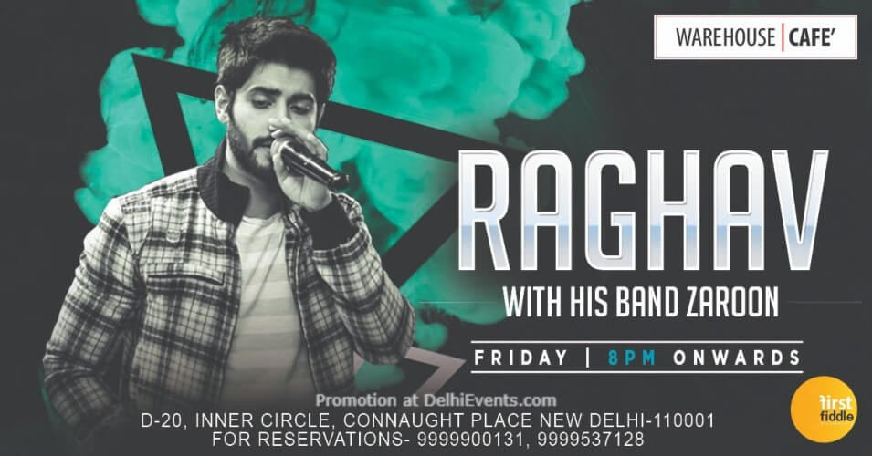Band Zaroon Raghav Warehouse Cafe Connaught Place Creative