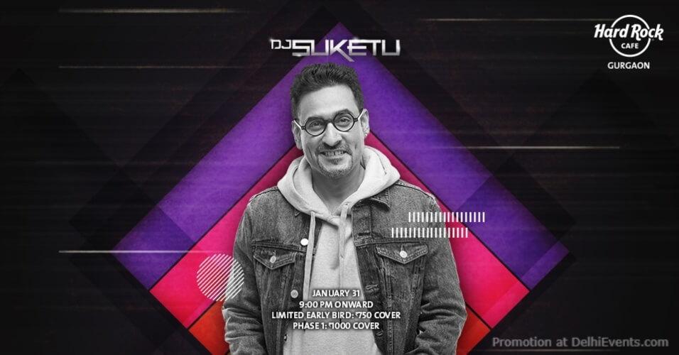 Big Mix DJ Suketu Hard Rock Cafe Gurugram Creative