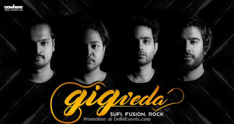 Gigveda Nowhere Terrace BrewPub Cafe Gurugram Creative