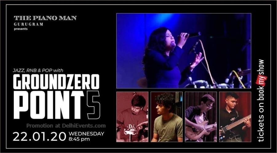 Groundzero Point 5 Piano Man Gurugram Creative