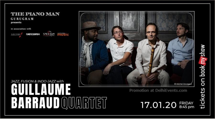 Guillaume Barraud Quartet Piano Man Gurugram Creative