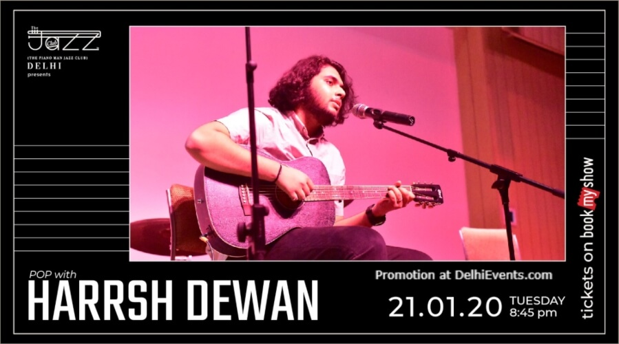 Harrsh Dewan Piano Man Jazz Club Safdarjung Enclave Creative
