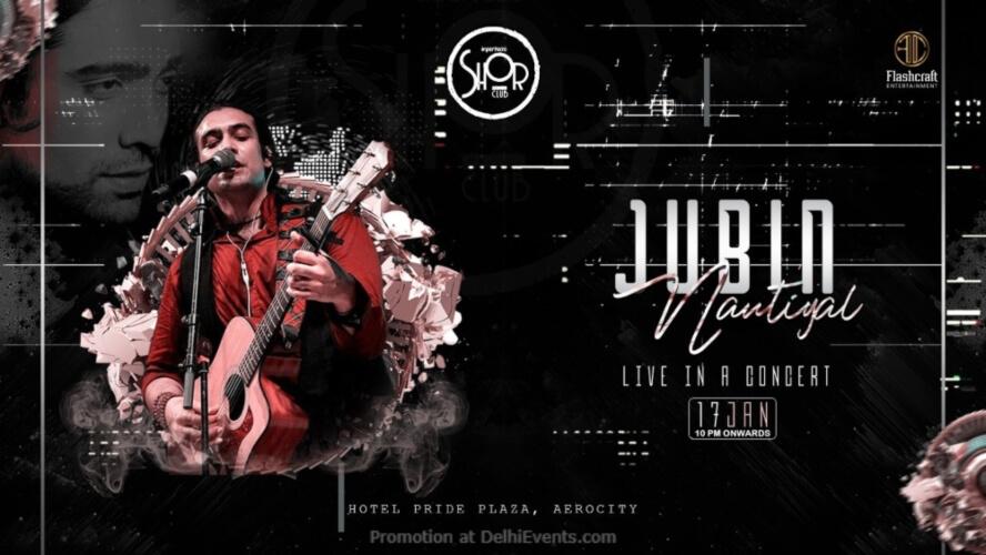 Jubin Nautiyal Concert Imperfecto Shor Aerocity Creative