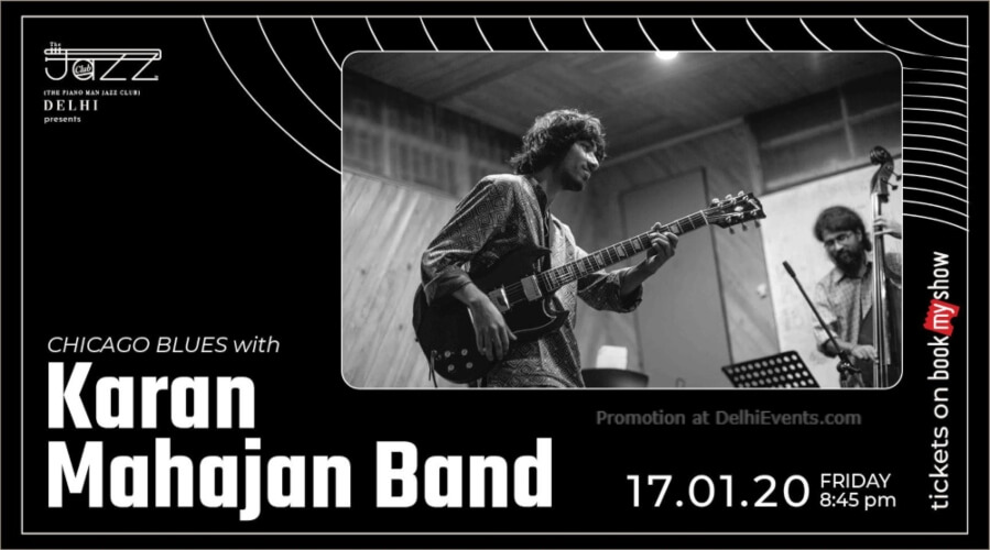 Karan Mahajan Band Piano Man Jazz Club Safdarjung Enclave Creative