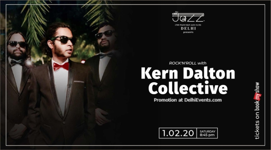 Kern Dalton Collective Piano Man Jazz Club Safdarjung Enclave Creative