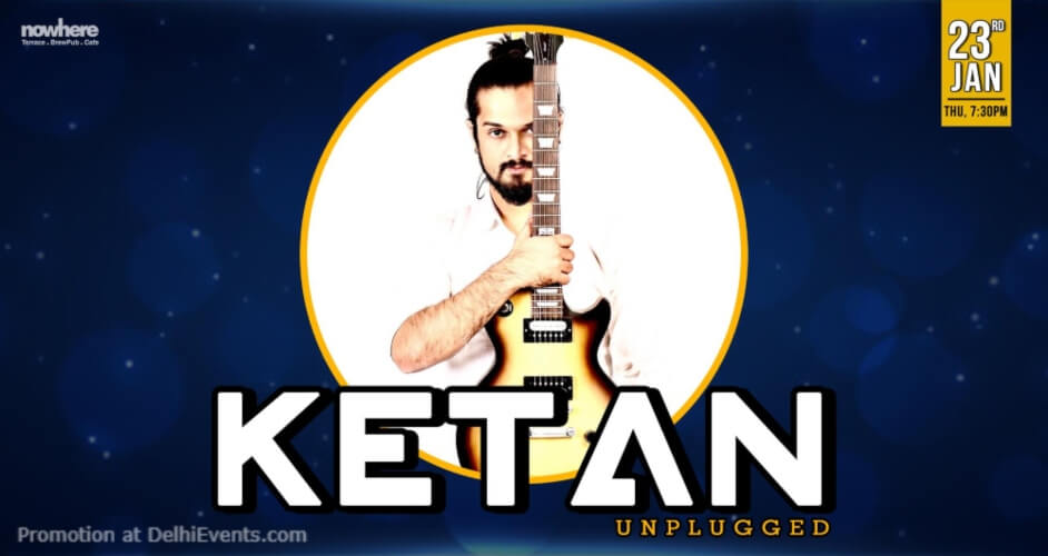 Ketan Unplugged Nowhere Terrace BrewPub Cafe Gurugram Creative