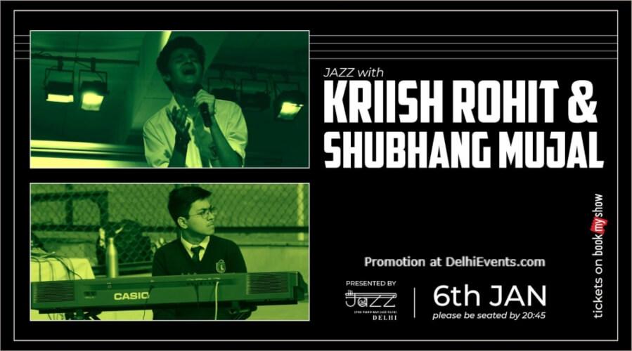 Kriish Rohit Shubhang Mujal Piano Man Jazz Club Safdarjung Enclave Creative