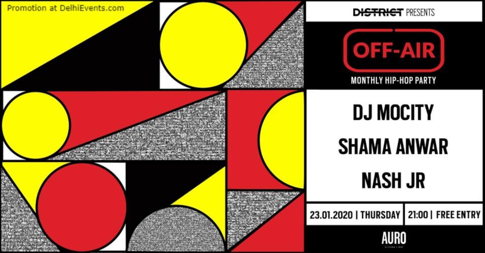 offAir W DJ MoCity Shama Anwar Nash JR Auro Kitchen Bar Hauz Khas Creative