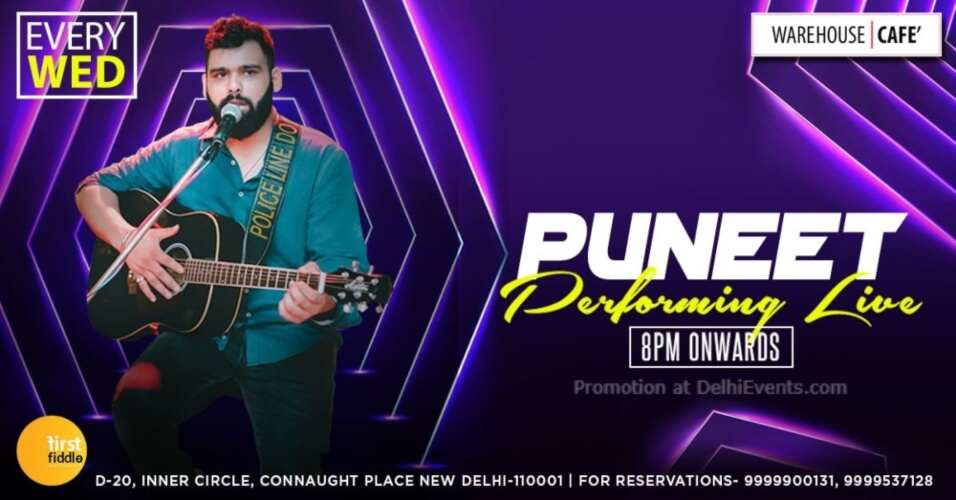 Puneet Warehouse Cafe Connaught Place Creative