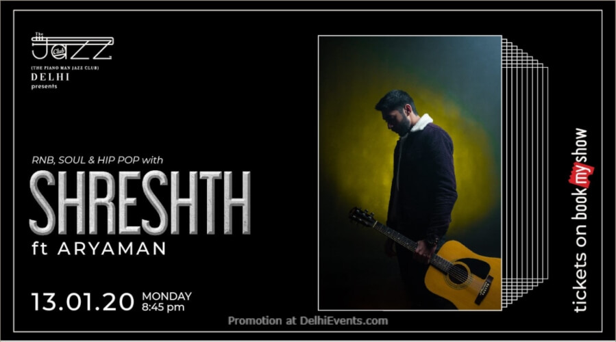 Shreshth Aryaman Piano Man Jazz Club Safdarjung Enclave Creative