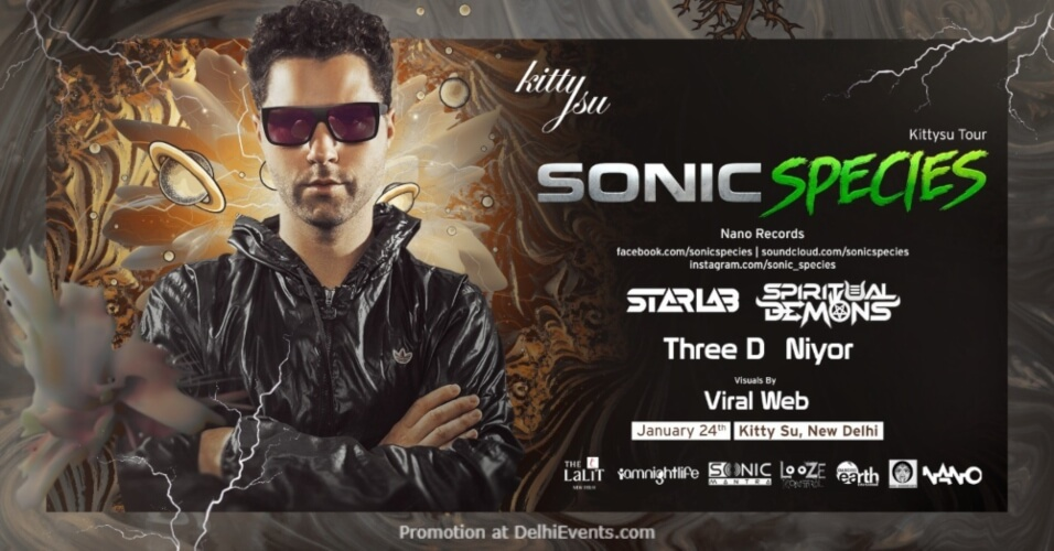 Sonic Species Kitty Su Lalit Connaught Place Creative