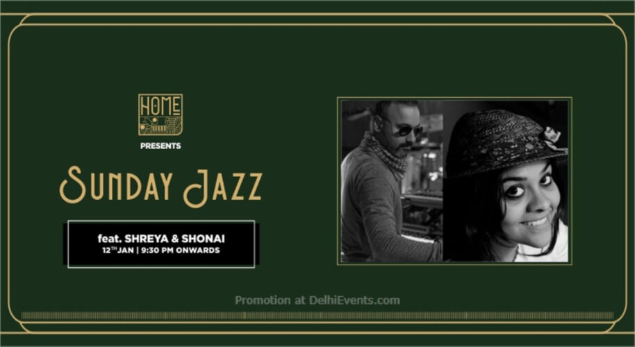 Sunday Jazz Shreya Shonai Home Delhi Vasant Kunj Creative