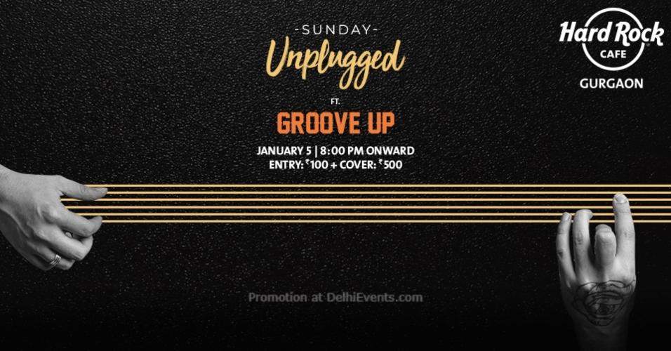 Sunday Unplugged Groove Up Hard Rock Cafe Gurugram Creative