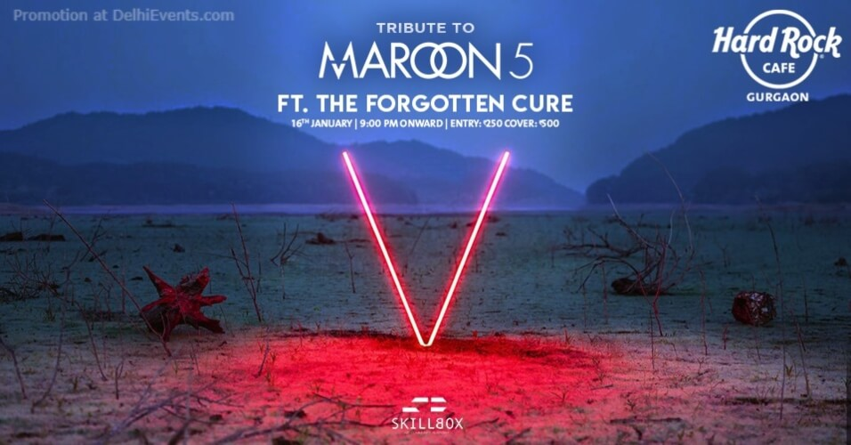Tribute Maroon Forgotten Cure Hard Rock Cafe Gurugram Creative