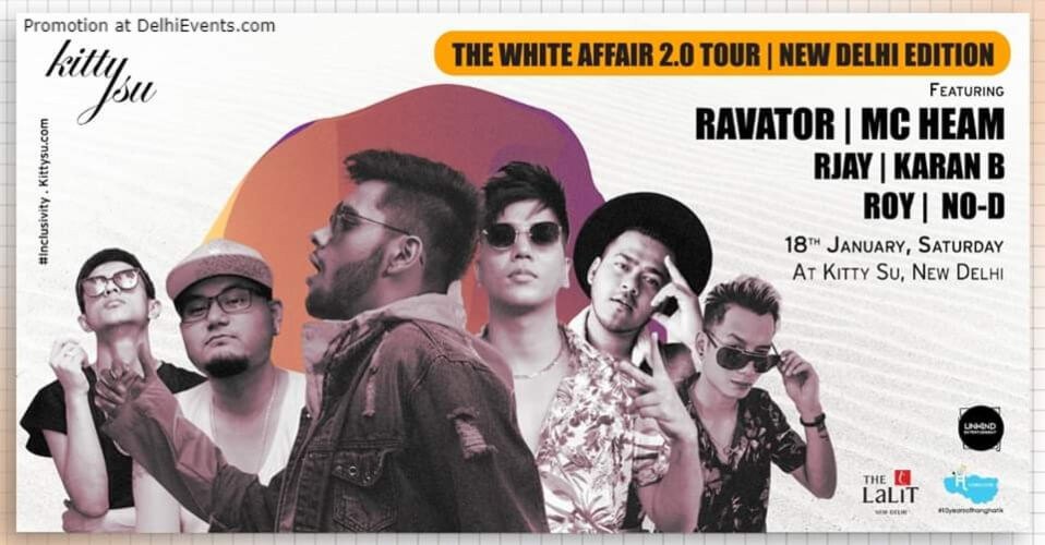 White Affair 20 Edition Kitty Su Lalit Connaught Place Creative