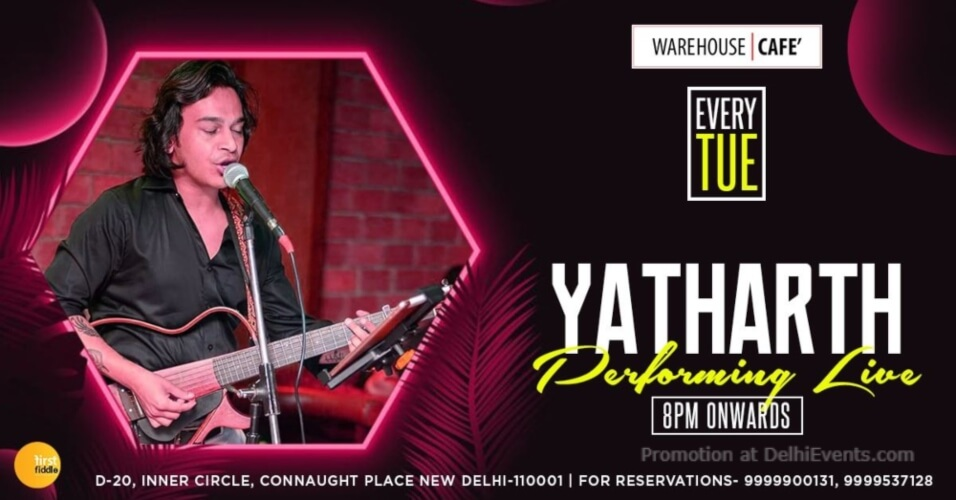 Yatharth Warehouse Cafe Connaught Place Creative