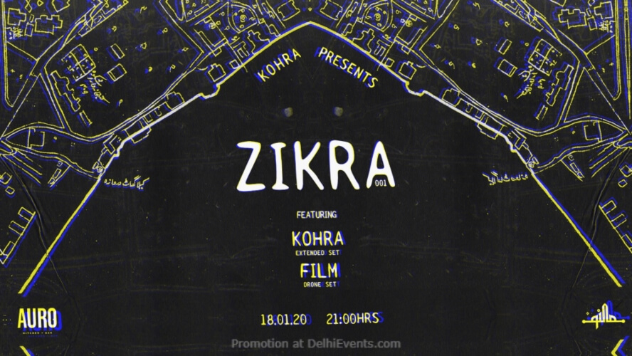 Zikra 1 Kohra ∂ Film Auro Kitchen Bar Hauz Khas Creative
