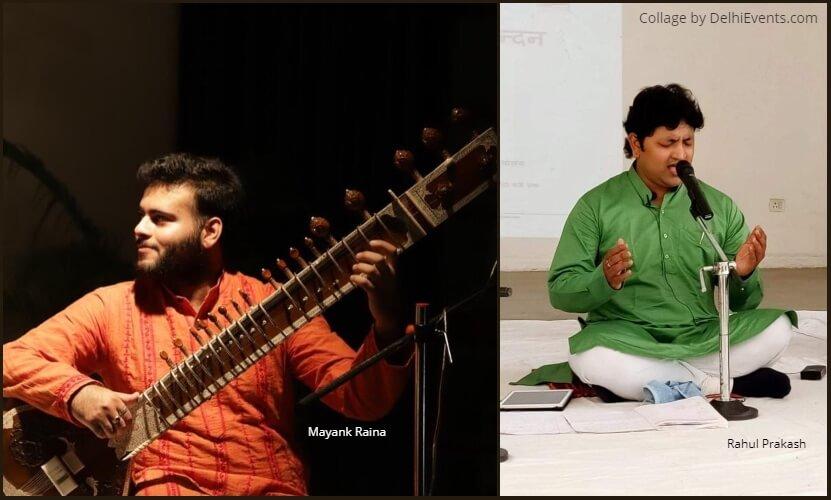 Musicians Mayank Raina Rahul Prakash