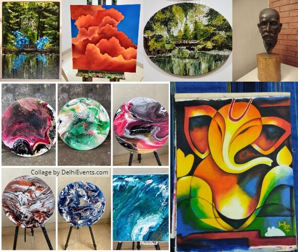 Kaavya Sarvasutra Group Show Passionate Artists Artworks