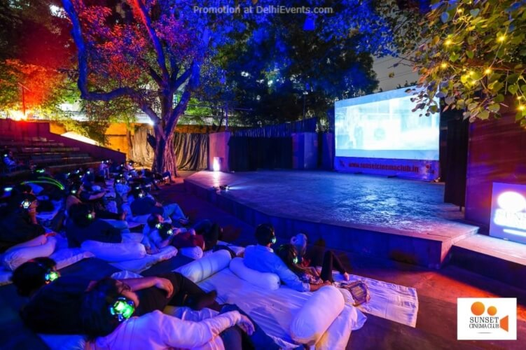 Open Air Cinema Ibis New Delhi Aerocity Creative