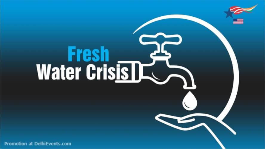 Diplomat Afternoon Fresh Water Crisis American Center Kasturba Gandhi Marg Creative